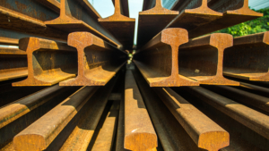 recycled rail steel